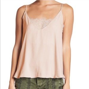 Free people lace incert cami